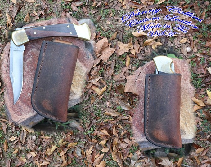 Buffalo Buck 110 Knife sheath/ Vertical Buck 110 Sheath/ Knife Sheath