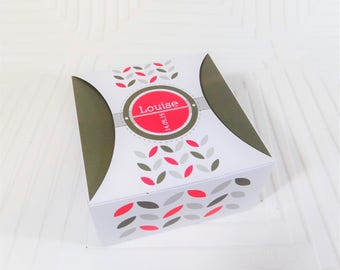 Box dragees customizable set of 10