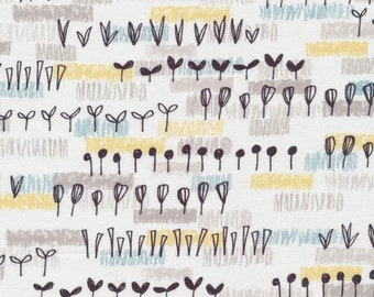 Sow and Sew - Allotment Blue Gray by Eloise Renouf from Cloud 9 Fabrics