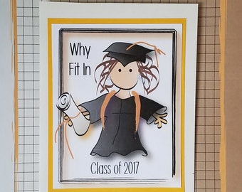 College Graduation Card - High School Graduation Card - Graduation Card - Card for Graduation - Funny Graduation Card and Matching Envelope