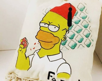 Tote bag Homer Simpson