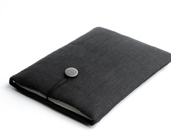 Surface Pro 4 case, Macbook 12 case, available with a pocket, black, minimal