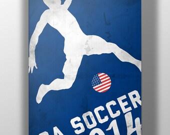 World Cup 2014- USA Soccer Print