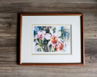 Sale Price Reduced 33%! Canadian Artist Brent Heighton Tropical Splendour Floral Print