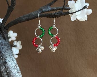 Holiday Jingle Bell Earrings