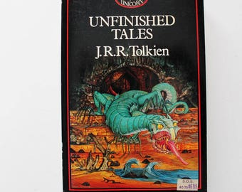 J.R.R. Tolkien Unfinished Tales of Numenor and Middle Earth Paperback 1982