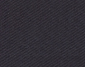 Recycled Water Bottle Fabric ORGANIC Cotton Blend Eco Twill Dark Navy MULTIPURPOSE