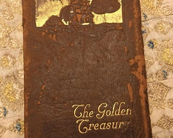 The Golden Treasury poetry edited by F Palgrave 1861 illustrated
