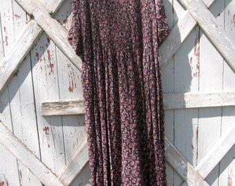 1990s floral dress XL 1X 2X
