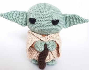 Yoda Crochet Pattern Dutch/English