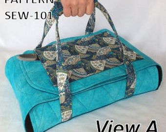 PATTERN Wrap & Go Casserole Carrier Pattern DIY New Pocket  and Handle for Easy Carry