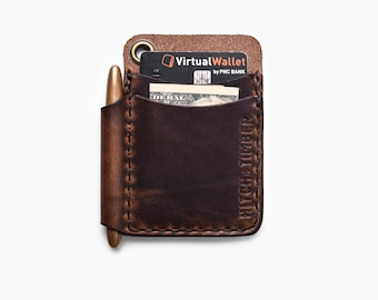 "The ""Scrawllet"" - Leather EDC Wallet for Everyday Carry"