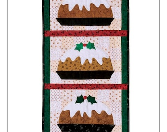 Plum Pudding Wall Quilt Pattern