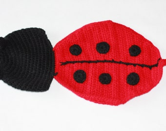 Ladybird hat and patns
