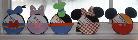Items similar to Mickey and Friends Invitations Set of 10 on Etsy
