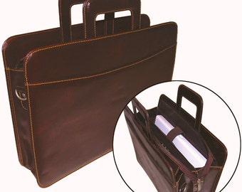 Woodland Leather Attache Case BR101