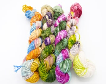 Thank You For Being a Friend Hand Dyed Yarn Mini Skein Set - In Stock