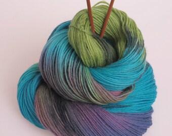 Wool Yarn 'Bombastik' - Hand dyed Yarn, Hand dyed wool yarn