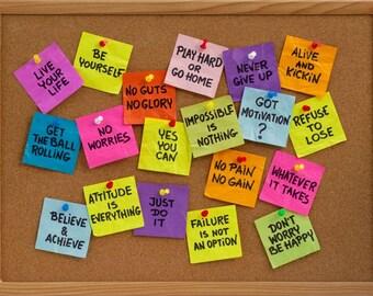 5 positive messages