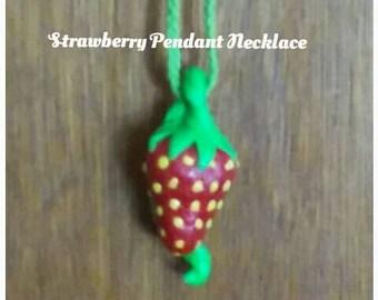 10 Dollar SALE/ Strawberry Necklace