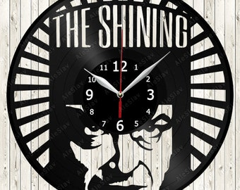The Shining Vinyl Record Wall Clock Handmade Art Decor Your Room Original Gift 1574