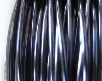 Hypo Allergenic Wire 24 gauge  Viking Knit crochet Blue Steel Wire 12 ft
