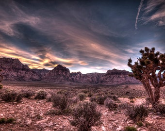 Red Skies Over Red Rock