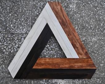 Abstract Wall Art, Wall Decor Wood, Wood Wall Art, Wood Art, Geometric Wood Art, Wall Decor, Reclaimed Wood Art