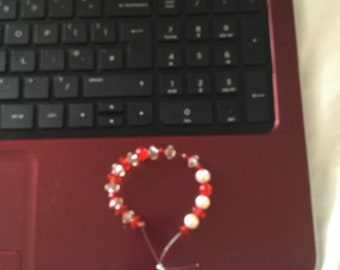 St George's day bracelet