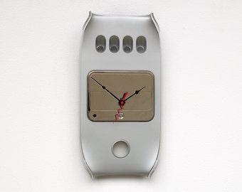 Mac clock, Apple clock gift, Recycled Mac G4 Clock, computer parts clock, industrial design clock, steampunk clock,