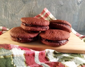 Double sandwich cookie (GF, Vegan) (6 pc)