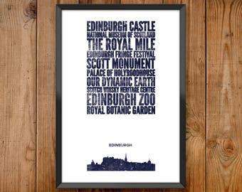 Edinburgh City Print
