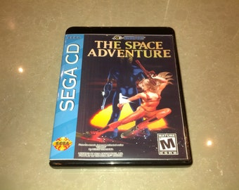 The Space Adventure - Cobra: The Legendary Bandit [Sega CD]
