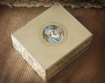 1940s jewelry box Etsy