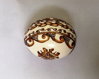 Easter egg, Hand-painted egg