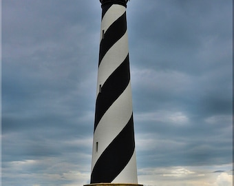 Cape Hatteras Lighthouse, OBX, Outer Banks, NC, North Carolina, East Coast