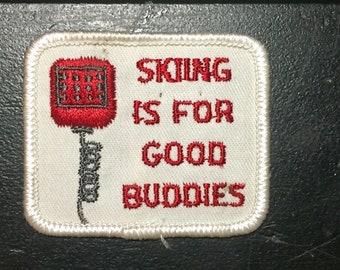 Vintage Friendship Ski Patch