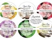 items similar to 6 body butter lid labels scrub labels. Black Bedroom Furniture Sets. Home Design Ideas