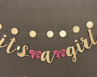 Oh Baby Banner Baby Shower Banner Black Amp Gold Baby Shower