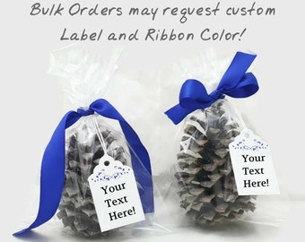 Custom Pine Cone Fire Starters, Scented Wax dipped for Wedding Favors,Party Favors,  Ornaments, Decor. Instructions on how to order.
