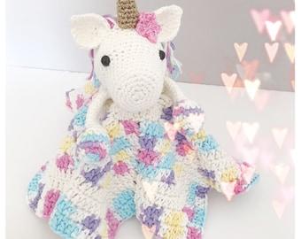 Unicorn Lovey/Comforter