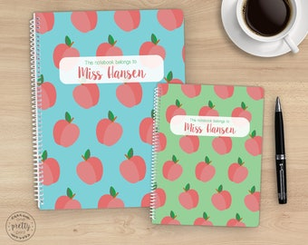 Personalized Teachers' Spiral Notebook