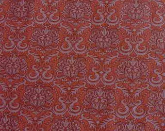 Seams Like Old Times - Dan Morris - RJR Fabrics - 100% Cotton - Rust Colored Quilting Fabric