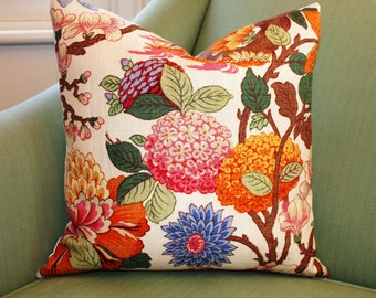 GP & J Baker Magnolia Cushion Pillow Cover