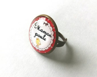 mother hen ring