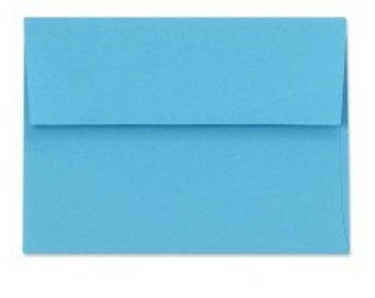 Blue Envelopes - Set of 25 Ocean A7 Envelopes - Perfect for 5x7 Photos and Cards