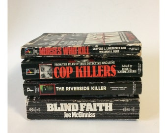 True Crime Paperback Book Lot