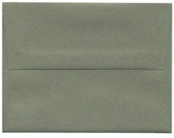250 Evergreen Sage Envelopes - size A6