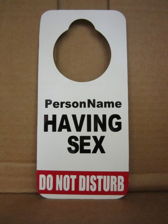 do not disturb sign for door