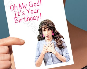Friends Tv Show | Birthday Card | Boyfriend Card Janice Birthday Funny Boyfriend Card Youre My Lobster Happy Birthday Card For Him Funny Her